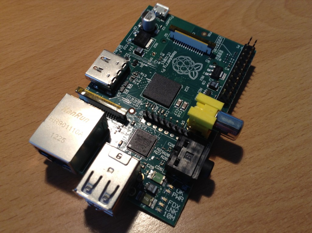 Raspberry Pi Model B Board